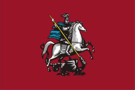 Флаг города Москва