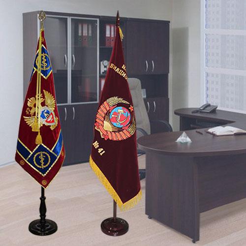 Флаги-знамена для напольных флагштоков