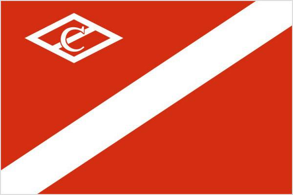Флаг футбольный клуб спартак москва клуб светелка москва