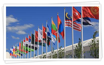 Изготовление флагов и флагштоков