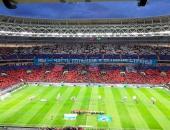 Транспаранты на стадионе