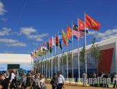 Флаги стран мира на уличных флагштоках из стекловолокна