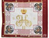 Флаг Первого пехотного полка, оборотная сторона