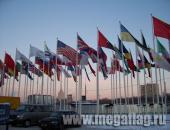 Флаги и мачты для экспоцентра