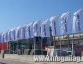 Алюминиевые мачты-флагштоки и рекламные флаги