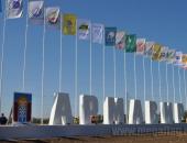 Алюминиевые флагштоки высотой 12м с баннер-лифтом в Краснодарском крае