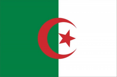 Флаг страны Алжир
