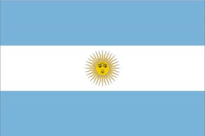 Флаг страны Аргентина