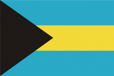 Флаг страны Багамские острова