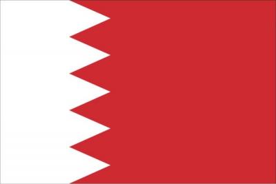 Флаг страны Бахрейн