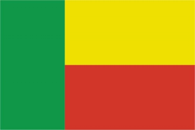 Флаг страны Бенин