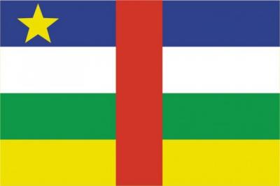 Флаг страны Центрально-Африканская Республика