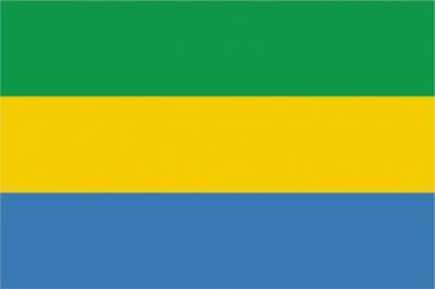 Флаг страны Габон