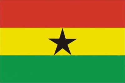 Флаг страны Гана