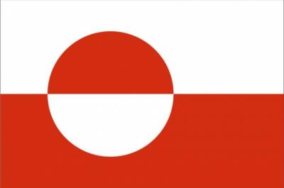 Флаг страны Гренландия