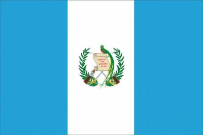 Флаг страны Гватемала