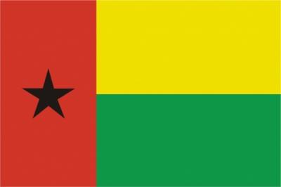 Флаг страны Гвинея-Бисау