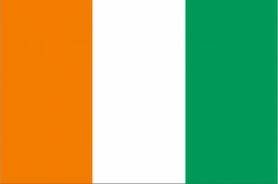 Флаг страны Кот-д`Ивуар