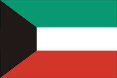 Флаг страны Кувейт