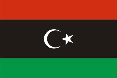 Флаг страны Ливия