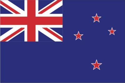 Флаг страны Новая Зеландия