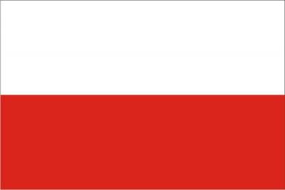 Флаг страны Польша