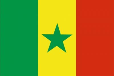 Флаг страны Сенегал
