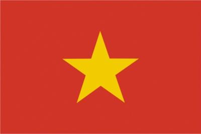 Флаг страны Вьетнам