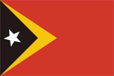 Флаг страны Восточный Тимор