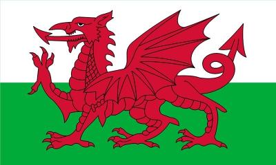 Флаг Уэльс