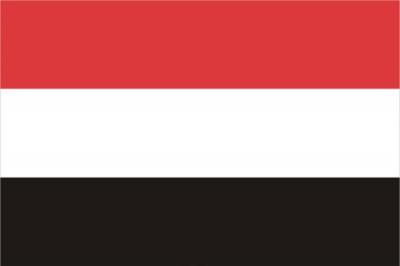 Флаг страны Йемен