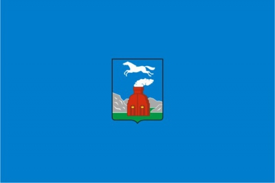 Флаг города Барнаул
