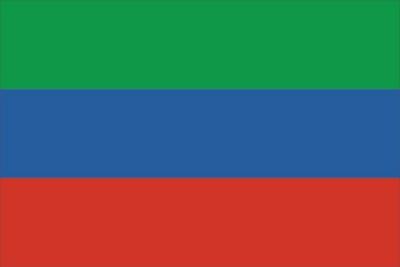 Флаг субъекта РФ Республика Дагестан
