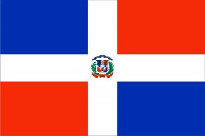 Флаг страны Доминиканская Республика