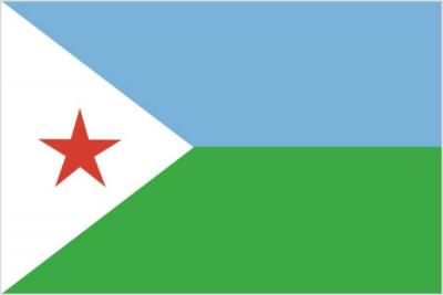 Флаг страны Джибути