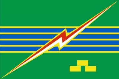 Флаг города Электрогорск