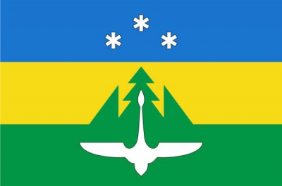 Флаг города Ханты-Мансийск