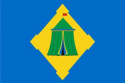 Флаг Хорошёвского района города Москвы