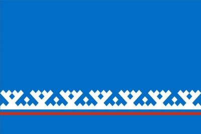 Флаг субъекта РФ Ямало-Ненецкий автономный округ