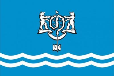 Флаг города Южно-Сахалинск