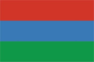 Флаг субъекта РФ Республика Карелия
