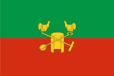 Флаг района Кольчугинский Владимирской области