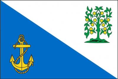 Флаг Ломосовского района Ленинградской области