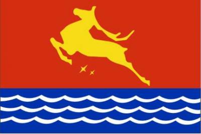 Флаг города Магадан
