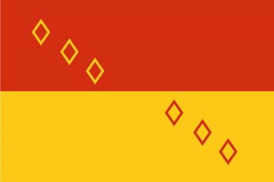 Флаг района Ногинский Московская область