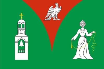 Флаг района Орехово-Зуевский Московская область