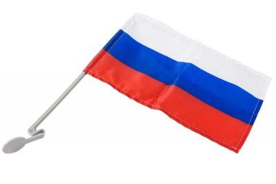 Флаг страны Россия для автомобильного кронштейна