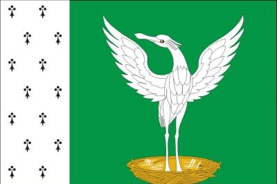 Флаг района Шаховской Московская область