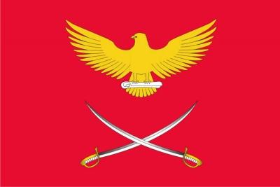 Флаг района Сокол города Москвы