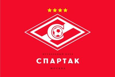 Флаг ФК Спартак Москва 4 звезды